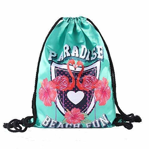 drawstring bag sport travel fashion backpack