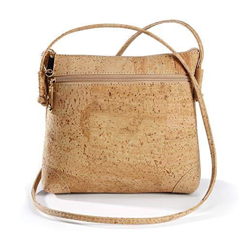 Eco - Friendly Cork Vegan Cross Body Bag Shoulder Bag Latest Design