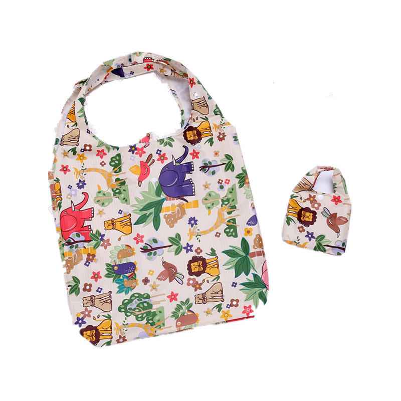 Full Prints Reusable Shopping Tote Bag