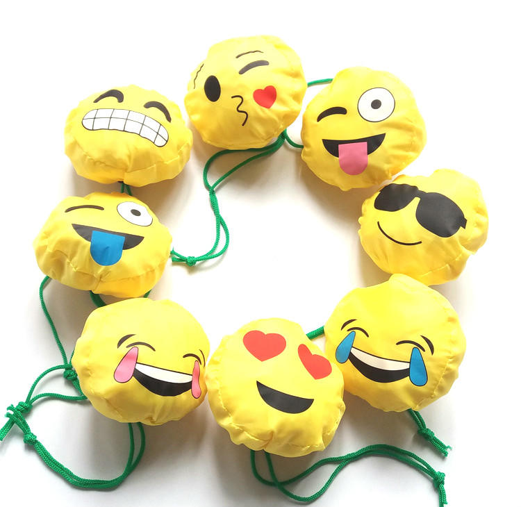 Emoji  Folding Shopping Bag