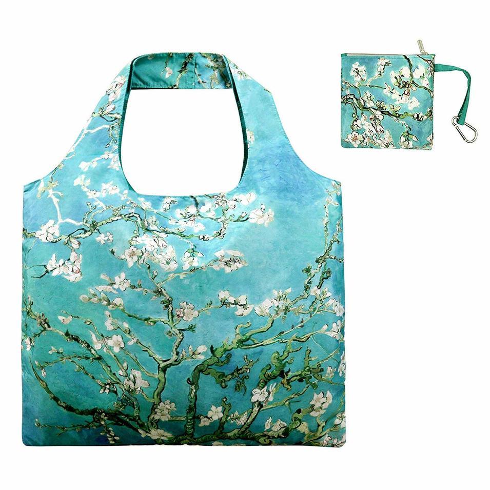 Zipper Closure Travel Shopping Bag