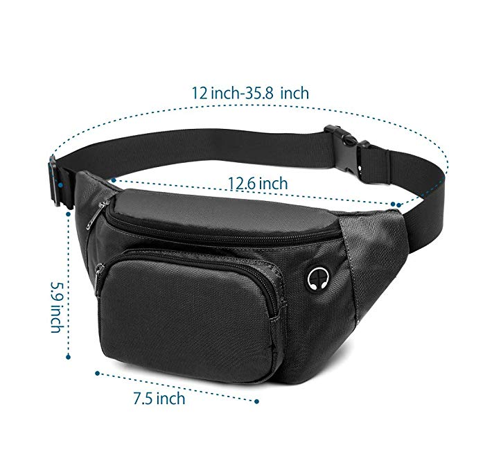 Alliance waterproof waist bag wholesale for gym-1