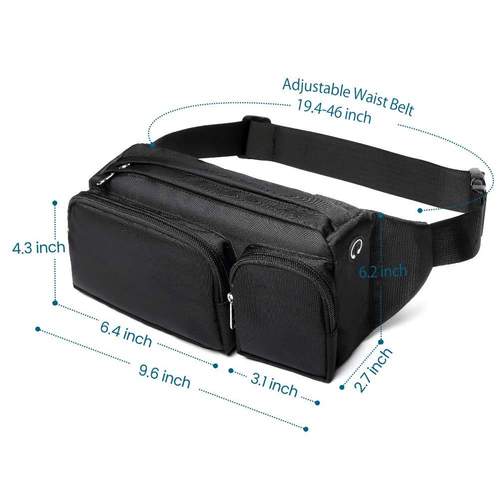 adjustable mens waist bag factory price for travel-1