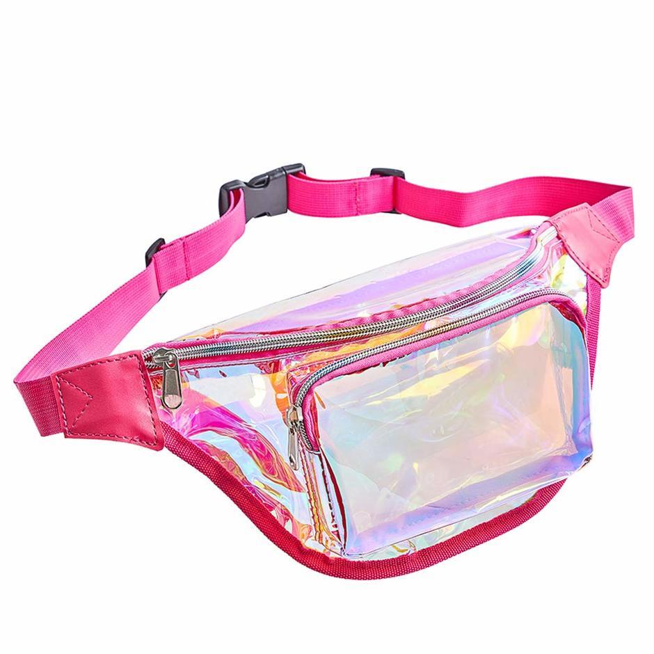 Cheap Clear PVC Transparent Waist Bag