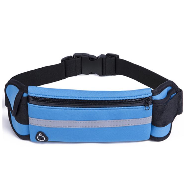 Wholesale Price Good Quality Neoprene Waist Bag Neoprene Running Belt W/Double Pouch