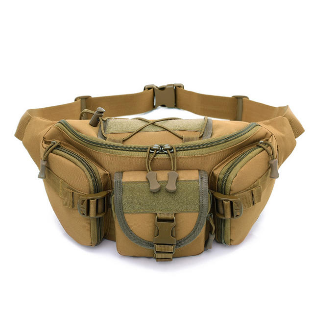 Tactical Molle Bag Waterproof Waist Fanny Pack Hiking Fishing Sport Hunting Waist Bags Camping Sport Bag Belt