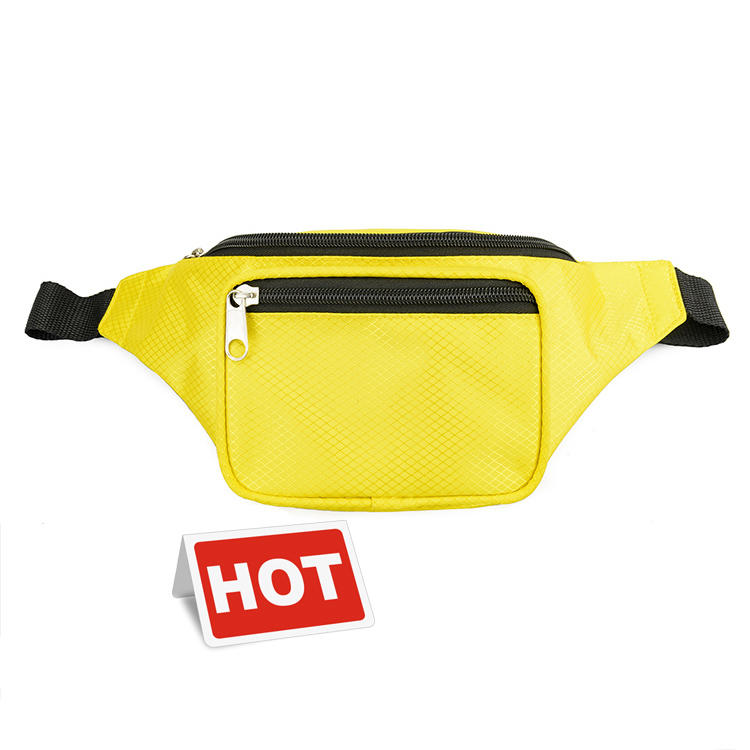 Wholesale custom print waterproof men fanny pack waist bag, fashion women bum bag
