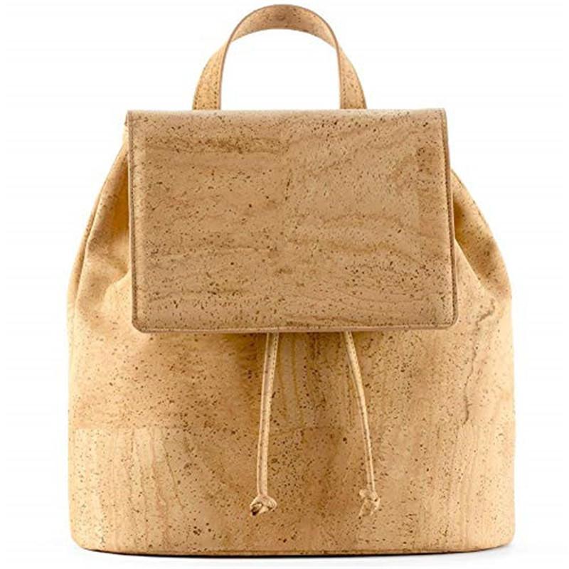 New design custom Large capacity lightweight cork backpack bag