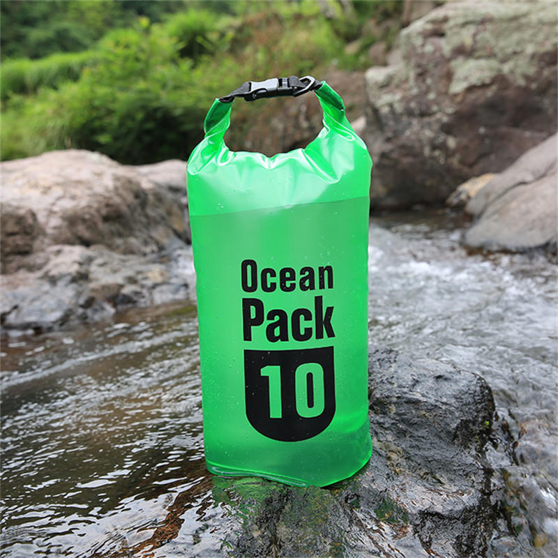 Premium Waterproof Transparent Dry Bag Floating Sack for Water sports Keeps Gear Dry