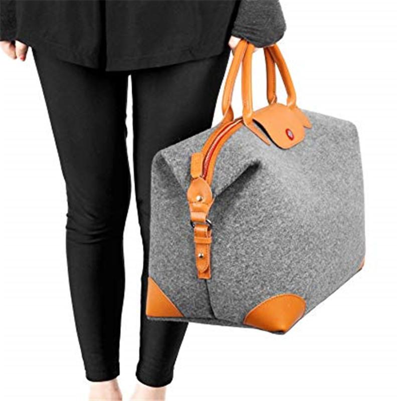Large Unisex's Weekender Duffel Bag Oversized Travel Tote Luggage Bag