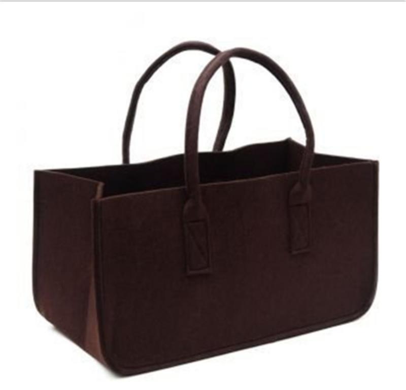 Fashion Felt Purse Handbag Large Capacity Utility Tote Shopping Grocery Bag