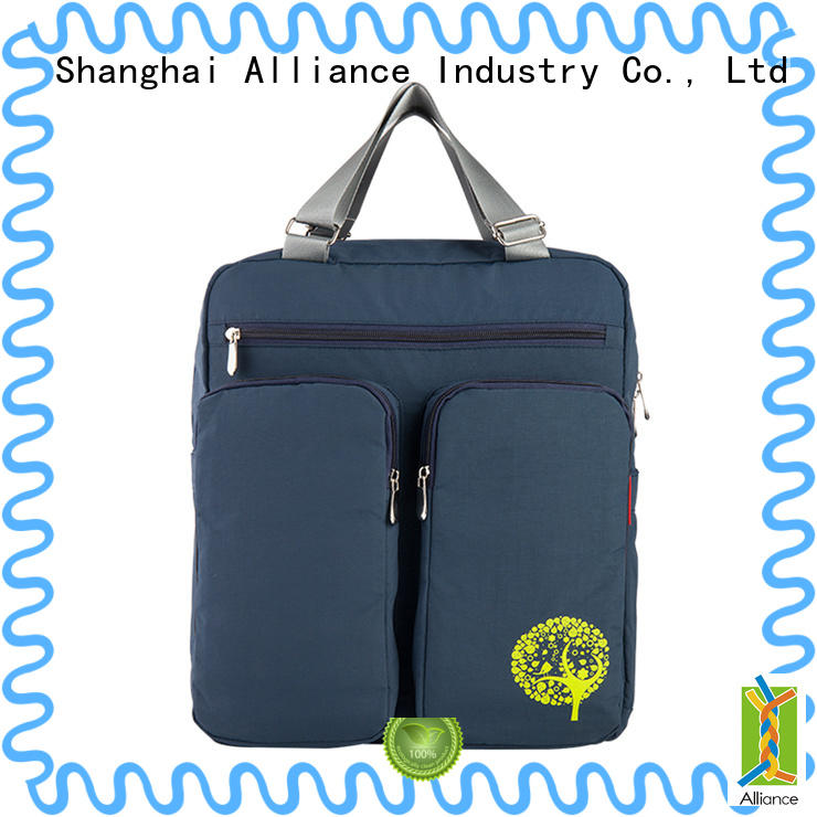 Alliance practical diaper bag backpack customized for outdoor