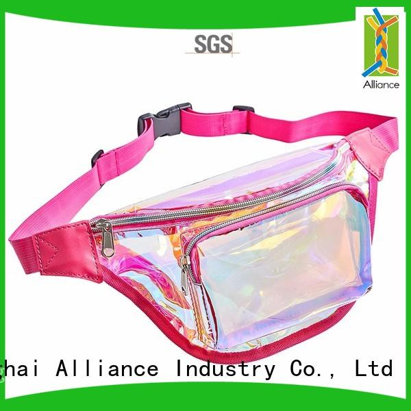 Alliance waist bag for women supplier for gym