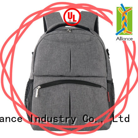 Trendy Baby Nappy Backpack, Anti-Theft Travel Shoulders Bag