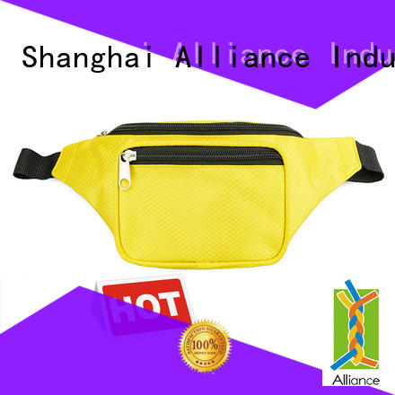 Alliance mens waist bag factory price for outdoor