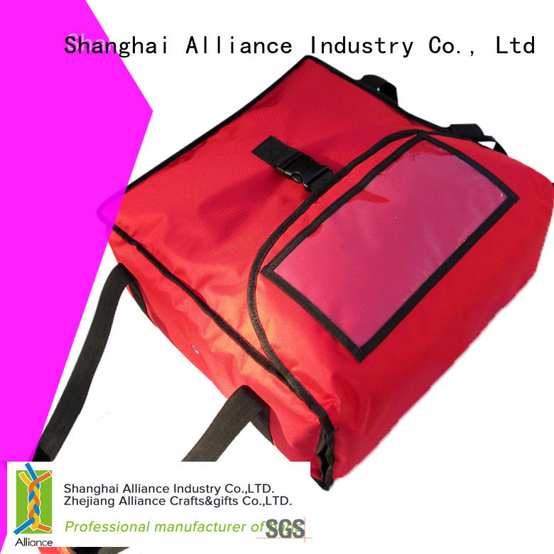 Alliance pizza warmer bags manufacturer for food