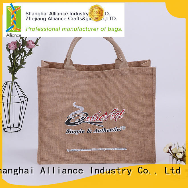 Alliance personalized tote bags directly sale for books