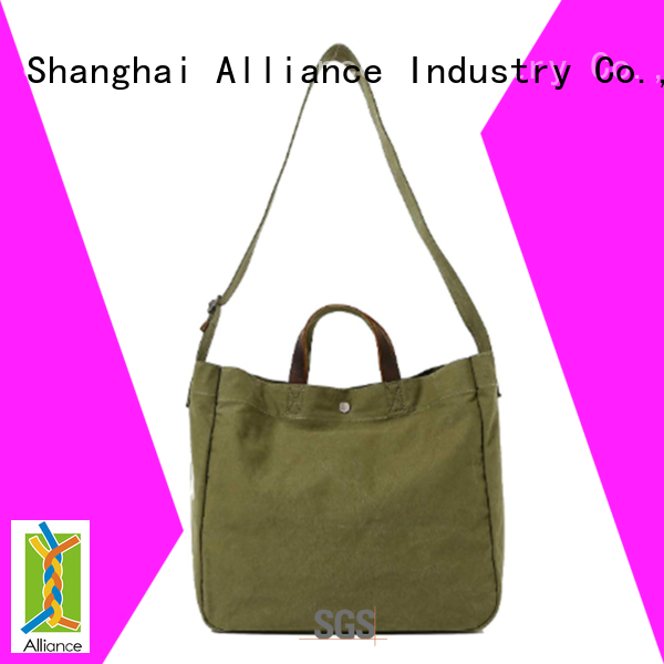 Alliance cotton tote bags series for shopping
