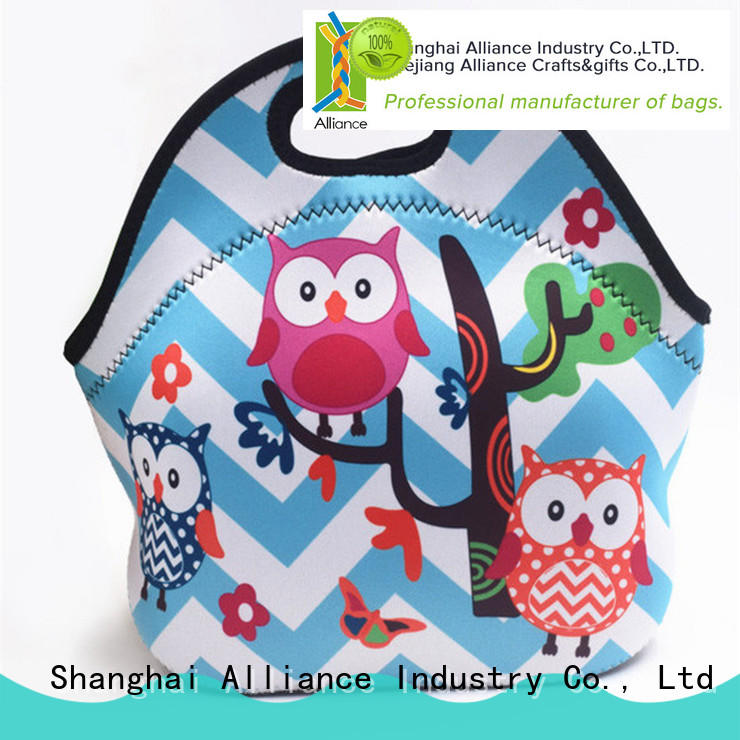 Alliance hot selling insulated lunch bags directly sale for school