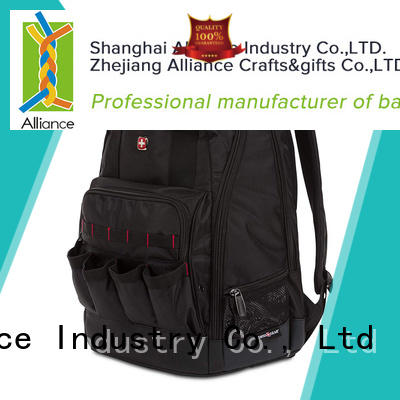 Alliance tool backpack factory price for student