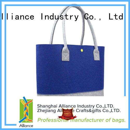 Alliance canvas tote bags manufacturer for women