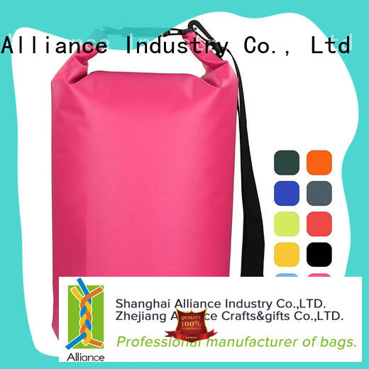 Alliance dry sack customized for camping