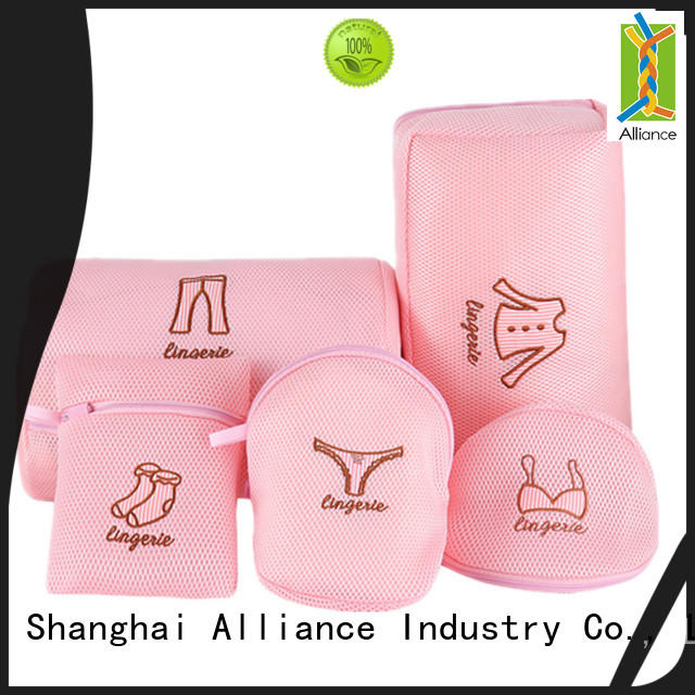 Alliance foldable mesh laundry bags wholesale for beach