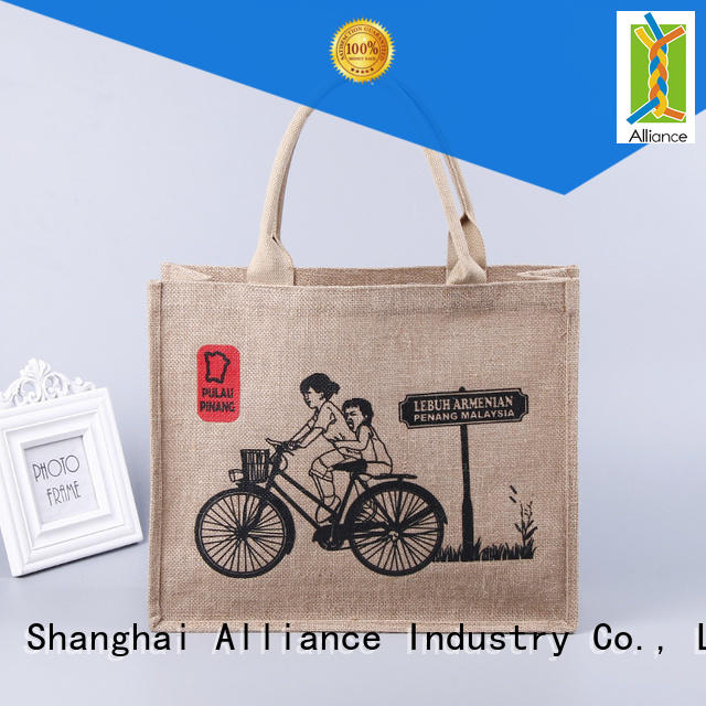 Alliance practical canvas tote bags from China for grocery