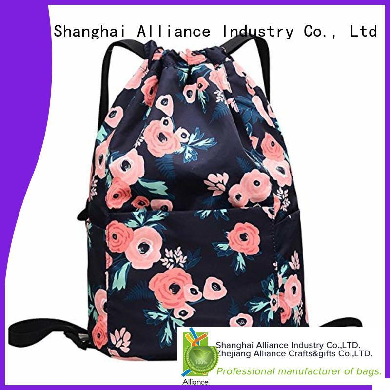 Alliance hiking drawstring bags inquire now for children