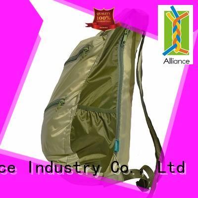 Alliance environmentally bulk backpacks design for hiking