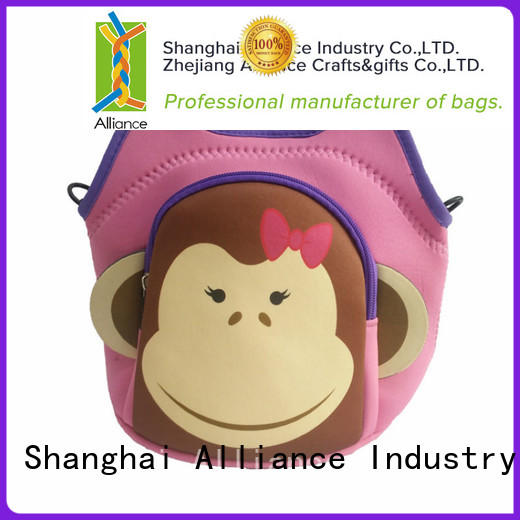 Alliance reusable insulated lunch bags series for children