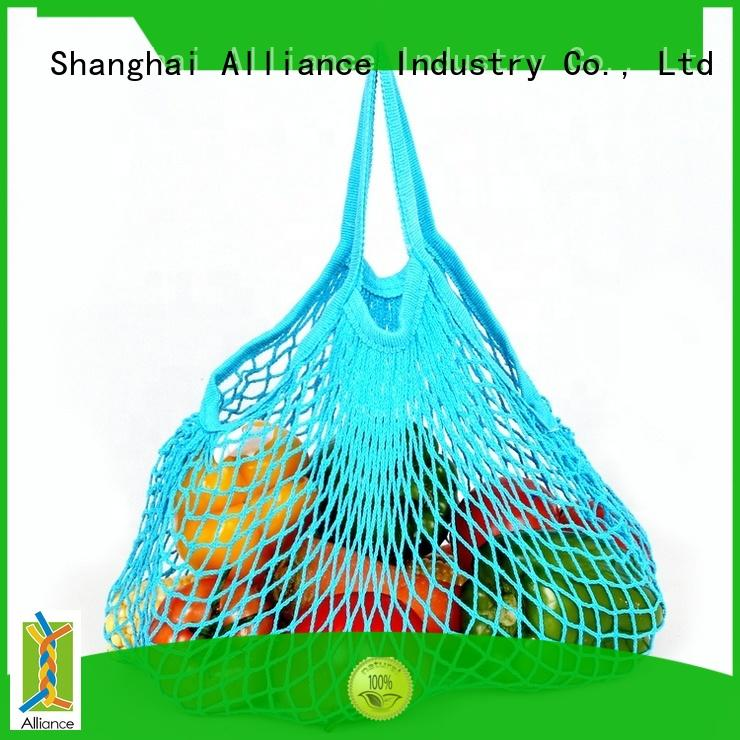Alliance certificated mesh bags factory price for shopping