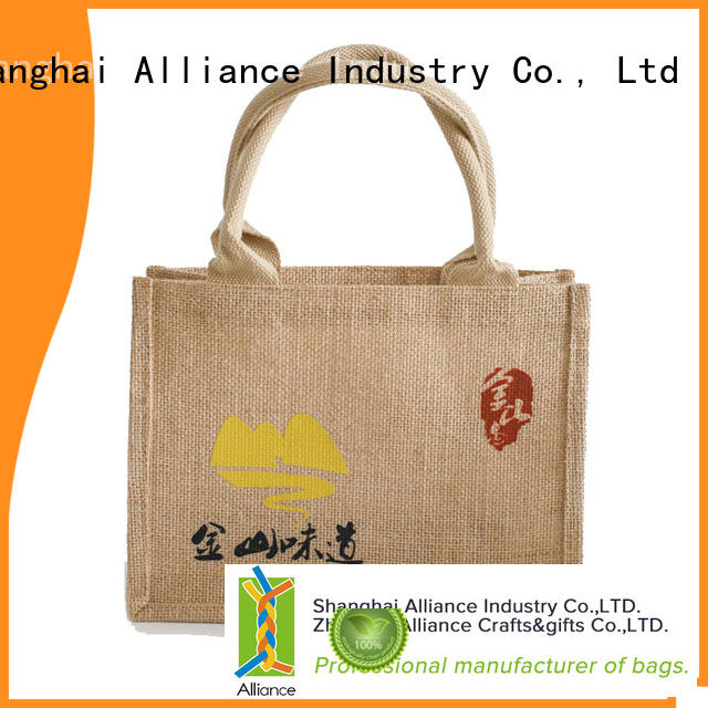 Alliance tote bags series for grocery