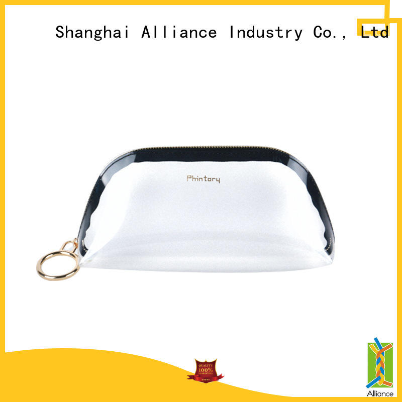 Alliance cosmetic bags factory price for tirp