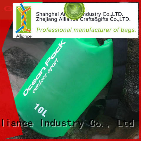 Alliance quality waterproof bag customized for fishing