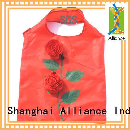 Alliance nylon foldable shopping bag for fruit