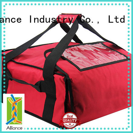 Alliance pizza warmer bags customized for restaurant