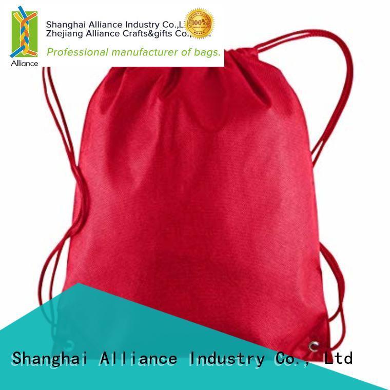 waterproof drawstring pouch design for children