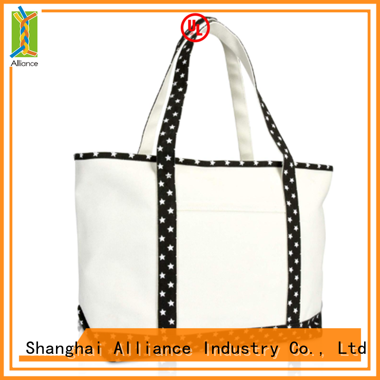 Alliance reusable canvas tote bags from China for books