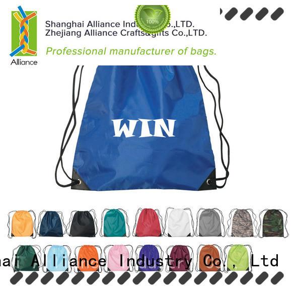 Alliance drawstring backpack design for sport