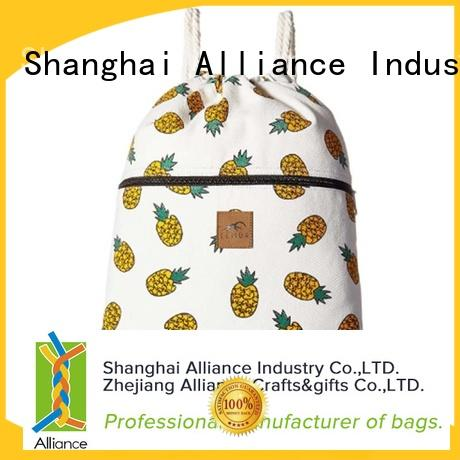 Alliance personalized tote bags manufacturer for shopping