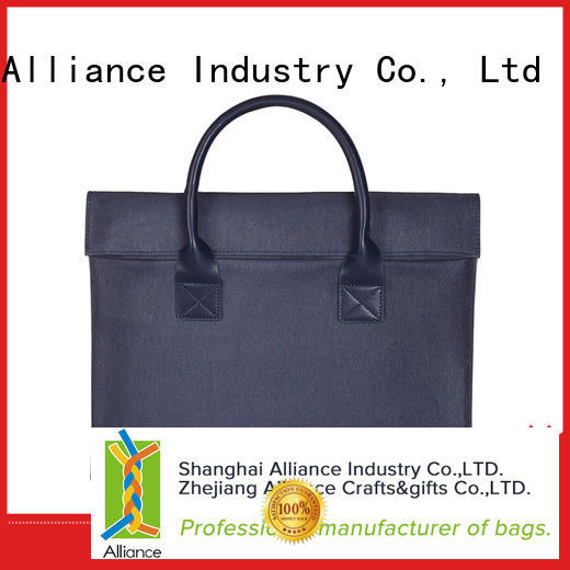 Alliance certificated laptop case factory price for men