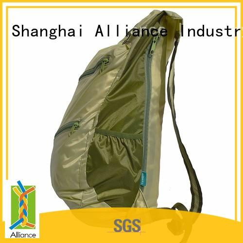 Alliance nylon bulk backpacks inquire now for hiking