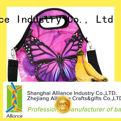 Alliance lunch bags for women customized for beach