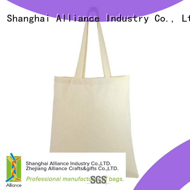 Alliance reliable personalized tote bags directly sale for grocery