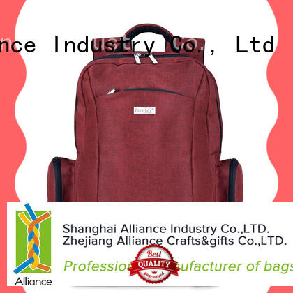 Alliance quality diaper backpack from China for wet cloth