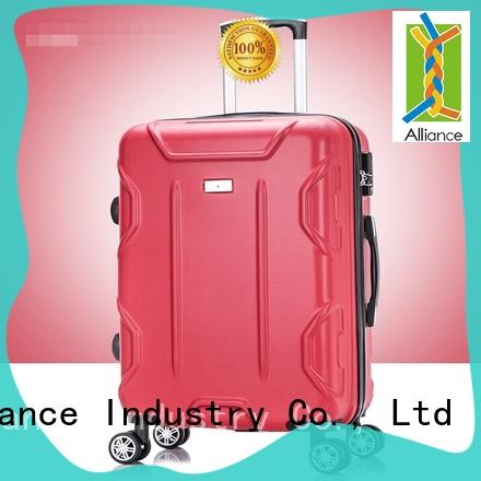 double wheels trolley suitcase with good price for travel