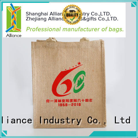Alliance cotton tote bags customized for women