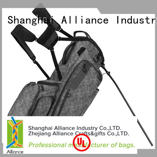 Alliance practical golf stand bags customized for adults