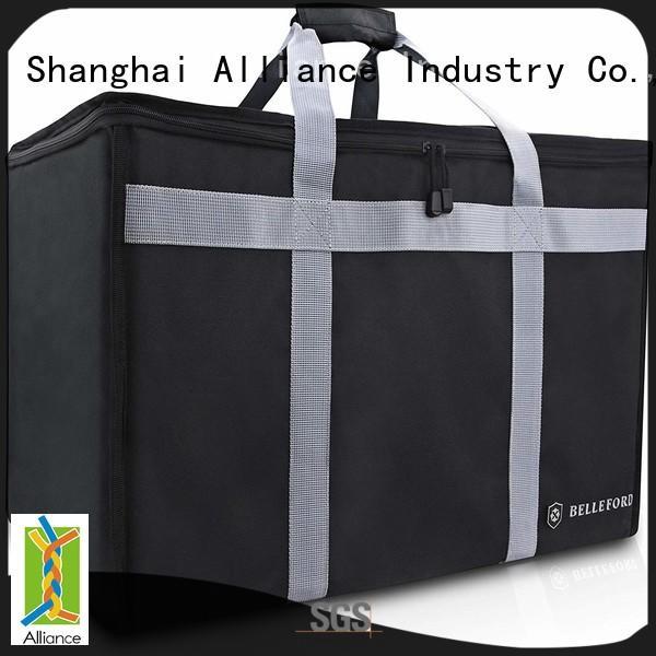 Alliance pizza delivery bag manufacturer for food